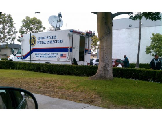 The USPS Investigation Control Mobile Central